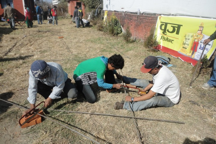 Organizing Training on Earthquake Safety Construction, Mason Training jointly with Lalitpur Sub Metropolitan City