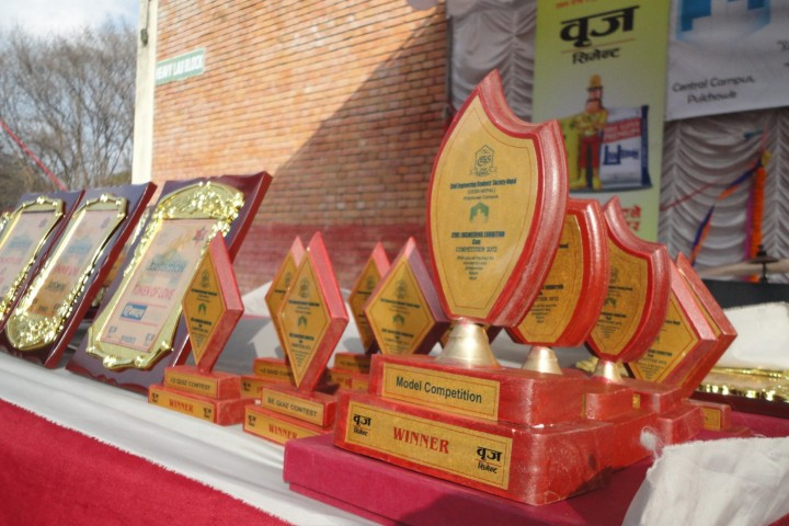 National Civil Engineering Exhibition Yearly Prize sponsorship